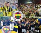 Fenerbahçe SK, campeón de la liga de fútbol turca, Superliga 2010-2011
