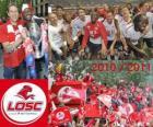 LOSC Lille, campeón de la liga francesa de fútbol, Ligue 1 2010-2011