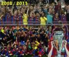 FC Barcelona, campeón de la Liga de Campeones de la UEFA 2010-2011