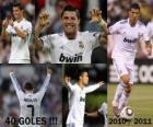 Cristiano Ronaldo, máximo goleador de la historia de la liga Española, 2010 - 2011