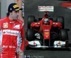 Fernando Alonso - Ferrari - Montecarlo, Gran Premio de Mónaco (2011) (2º Clasificado)