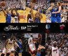 Finales NBA 2011, 2º Partido, Dallas Mavericks 95 - Miami Heat 93