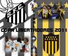 Santos FC - Peñarol de Montevideo. Final Copa Libertadores 2011