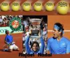 Rafael Nadal Campeón Roland Garros 2011