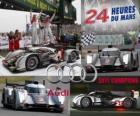 Campeones 24 horas de Le Mans 2011 Audi R18 TDI