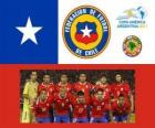 Selección de Chile, Grupo C, Argentina 2011