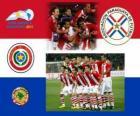 Selección de Paraguay, Grupo B, Argentina 2011