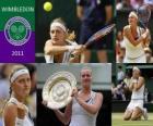 Petra Kvitova Campeona Wimbledon 2011