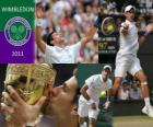 Novak Djokovic Campeón Wimbledon 2011