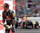Mark Webber - Red Bull - Silverstone, Gran Premio de Gran Bretaña (2011) (3er Clasificado)