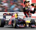 Sebastian Vettel - Red Bull - Silverstone, Gran Premio de Gran Bretaña (2011) (2º Clasificado)