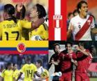 Colombia - Perú, cuartos de final, Argentina 2011