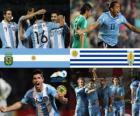 Argentina - Uruguay, cuartos de final, Argentina 2011