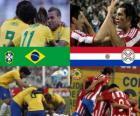 Brasil - Paraguay, cuartos de final, Argentina 2011