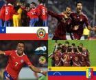 Chile - Venezuela, cuartos de final, Argentina 2011
