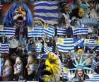 Aficionados de Uruguay, Argentina 2011