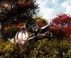 Zuniceratops tenía aproximadamente 3 a 3.5 metros de largo y 1 metro de alto.