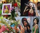 Amy Winehouse fue una cantante y compositora inglesa, conocida por sus mezclas de diversos géneros musicales