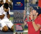 Novak Djokovic Campeón US Open 2011