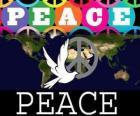 Día Internacional de la Paz. Día Mundial de la Paz. El 21 de septiembre se dedica a la paz y a la ausencia de guerra
