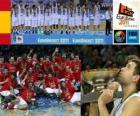 España, Campeones EuroBasket 2011