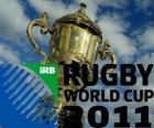 Copa Mundial de Rugby de 2011. Se celebra en Nueva Zelanda del 9 de setiembre al 23 de octubre