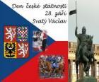 Día de la Patria checa. 28 septiembre, San Wenceslao, patrón de la República Checa
