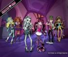 Grupo de personajes de Monster High