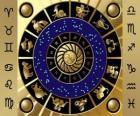 Los doce signos del zodíaco, la Rueda del Zodíaco o el Círculo del Zodíaco
