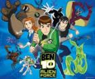 Ben, Gwen y Kevin, los protagonistas humanos de Ben 10 y sus 10 personalidades alienígenas originales