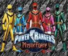 Power Rangers Fuerza Mística