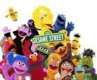 Personajes principales de Sesame Street o Barrio Sésamo
