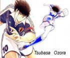 Tsubasa Ozora es Capitán Tsubasa, el capitán de la selección japonesa de fútbol