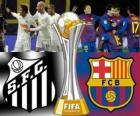 Santos FC - FC Barcelona. Final de Copa Mundial de Clubes de la FIFA Japón 2011