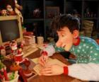 Arthur Christmas, responsable de responder las cartas de todos los niños del mundo