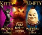 Cartel de la película El Gato con Botas