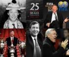 Distinción Presidencial de la FIFA 2011 para Alex Ferguson