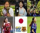 Homare Sawa mejor Jugadora Mundial del Año de la FIFA 2011