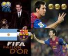 Lionel Messi Balón de Oro FIFA 2011