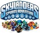 Logo del videojuego del dragón Spyro, Skylanders: Las aventuras de Spyro