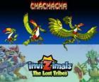 Chachacha. Invizimals Las Tribus Perdidas, Animales a los que les gustan las fiestas, bailar y divertirse