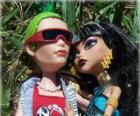 Cleo y Deuce, parejita de monstruos en la escuela secundaria Monster High