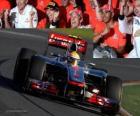 Lewis Hamilton - McLaren - Melbourne, Gran Premio de Australia (2012) (3er Clasificado)