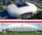 Estadio Municipal de Poznań (41.609), Poznań - Polonia