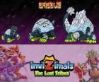 Erebus, última evolución. Invizimals Las Tribus Perdidas. Criatura mítica del Antártico que parece una montaña de hielo