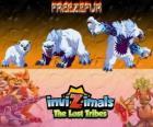 Freezefur, última evolución. Invizimals Las Tribus Perdidas. Una enorme bestia, violenta y fiera