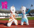 Las mascotas de los Juegos Olímpicos y Paralímpicos Londres 2012 son Wenlock y Mandeville