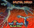 Spectral Dragon. Invizimals Las Tribus Perdidas. Malvado invizimal que garantiza fáciles combates si eres valiente para tenerlo a tu lado