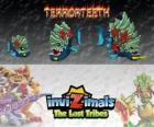 Terrorteeth, última evolución. Invizimals Las Tribus Perdidas. Invizimal acuático que come rápido y lo muerde todo