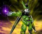 Célula, la creación final de Doctor Gero. Una forma de vida artificial creada usando las células de Goku y otros personajes